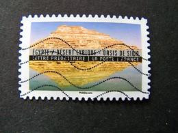 N°1361 EGYPTE DESERT LYBIQUE OASIS SIWA OBL ANNEE 2016 SERIE DU CARNET PAYSAGES ET REFLETS DU MONDE AUTOCOLLANT ADHESIF - France