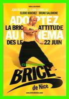 AFFICHE DE FILM - BRICE DE NICE UN FILM DE JAMES HUTH - - Affiches Sur Carte