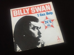 Vinyle 45 Tours  Billy  Swan   I Can Help  N°1 Aux  U.S.A   (1975) - Vinyles