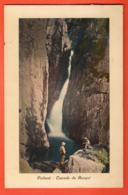 VAK-13 Finhaut Sur Salvan, Cascade Du Bouqui, Colorisé, ANIME. Jullien 1679  Circulé 1920 - VS Valais