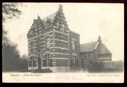 Cpa Vieusart  1909 - Chaumont-Gistoux