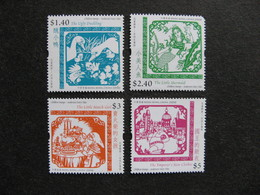 HONG-KONG : Série N° 1217 Au N° 1220, Neufs XX. - 1997-... Chinese Admnistrative Region