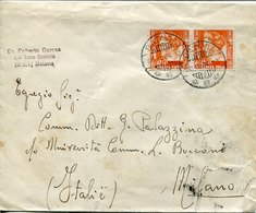 41342  Nederl. Indie, Circuled Cover 1934 From Batavia To Italy,  (see 2 Scan) - Indes Néerlandaises
