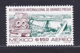 MEXIQUE AERIENS N°  407 ** MNH Neuf Sans Charnière, TB (D8166) Barrage - 1976 - México