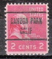 USA Precancel Vorausentwertung Preo, Locals California, Canoga Park 723 - Etats-Unis
