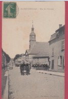 51 - SAINTE MENEHOULD---Rue De Florian---attelage - Sainte-Menehould