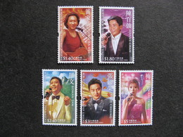 HONG-KONG : TB Série N° 1240 Au N° 1244, Neufs XX. - 1997-... Chinese Admnistrative Region