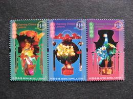 HONG-KONG : TB Bande N° 1249 Au N° 1251, Neuve XX. - 1997-... Chinese Admnistrative Region