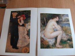 Lithographie Renoir Femme Nue Dans Un Paysage  La Danse à La Campagne Vintage Print - Lithographies