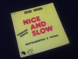 Vinyle 45 Tours Jesse Green Nice And Slow (1976) - Vinyles