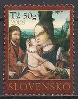 Slowakei  (2008)  Mi.Nr.  592  Gest. / Used  (7ae40) - Slovaquie