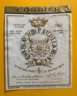 9557 - Château Gruaud-Larose 1962 St-Julien - Bordeaux