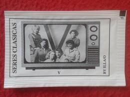 SOBRE DE AZÚCAR PACKET OF SUGAR SERIES CLÁSICAS DE TELEVISIÓN TV. SERIAL VER FOTO/S Y DESCR. V INVASIÓN EXTRATERRESTRE - Sucres
