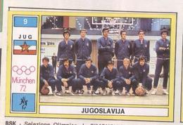 JUGOSLAVIA....TEAM....PALLACANESTRO....VOLLEY BALL...BASKET - Tarjetas