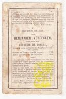 DP Benjamin Vereecken ° Temse 1793 † 1862 X Theresia De Jonghe / Muziek St.-Cecilia - Images Religieuses