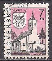 Slowakei  (1997)  Mi.Nr.  284  Gest. / Used  (7ae46) - Slovaquie