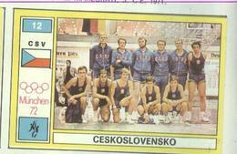 CESKOSLOVENSKO.....TEAM....PALLACANESTRO....VOLLEY BALL...BASKET - Trading Cards