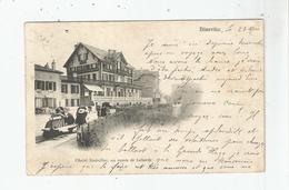 BIARRITZ CHALET NADAILLAC AU COMTE DE LABORDE 1915 - Biarritz