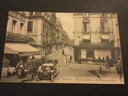 DIEPPE - Rue De La Halle Au Blé Et Rue De L'Epée - Dieppe
