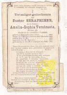 DP EZ Amelia S. Verstraete / VanHee - Zr. Seraphiene ° Eernegem Ichtegem 1869 † 1889 - Images Religieuses