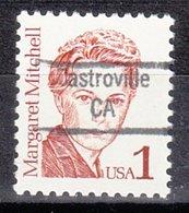 USA Precancel Vorausentwertung Preo, Locals California, Castroville 843 - Etats-Unis