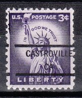 USA Precancel Vorausentwertung Preo, Locals California, Castroville 846 - Etats-Unis
