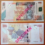 Congo 5000 Francs 2005 Specimen UNC - Congo