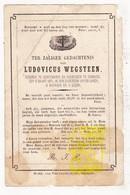 DP Ludovicus Wegsteen ° Kortemark 1820 † Diksmuide 1871 - Images Religieuses