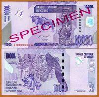 Congo 10000 Francs 2006 Specimen UNC - Congo