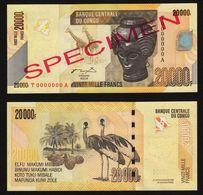 Congo 20000 Francs 2006 Specimen UNC - Congo