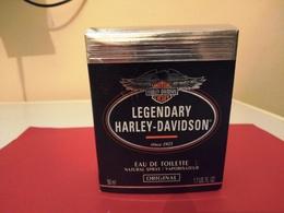 BOITE  VIDE DE PARFUM LEGENDARY HARLEY-DAVIDSON - Flacons (vides)