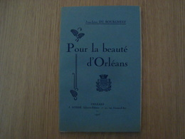 LIVRET POUR LA BEAUTE D'ORLEANS JEAN-LEON DU BOURGNEUF 1928 - Boeken, Tijdschriften, Stripverhalen