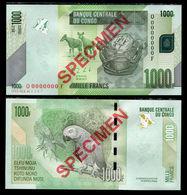 Congo 1000 Francs 2013 Specimen UNC - Congo