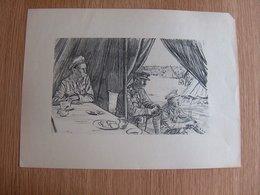 Lithographie The Happy Warrior Vintage Print - Lithografieën