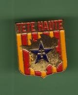 CROIX DE LORRAINE *** TETE HAUTE *** 0101 - Badges