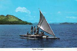 1 AK Fiji Islands * Fijian Outrigger - TAKIA - Das Transportmittel Zwischen Den Fidschi-Inseln * - Figi