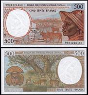 Central African Republic 500 Francs 1994 UNC - República Centroafricana