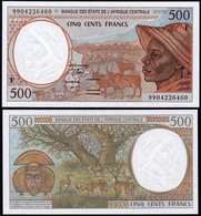 Central African Republic 500 Francs 1994 UNC - Centraal-Afrikaanse Republiek
