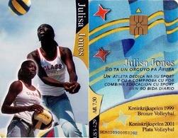TARJETA TELEFONICA DE ARUBA. SETAR-125, JULISA JONES (030) - Aruba