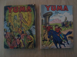 LOT DE 2 PETITS FORMATS YUMA N°51 ET N°52 1967 - Magazines