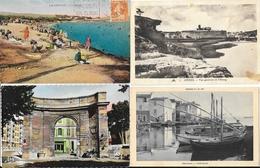Lot N° 79 De 100 CPA Des Bouches-du-Rhône (13) - Marseille, Port, Expositions, Arles, Salon, Petites Animations... - 100 - 499 Cartes
