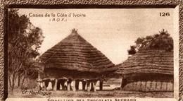 CHROMO  CHOCOLAT SUCHARD  CASES DE LA COTE D'IVOIRE - Suchard