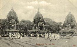 RARE  JUGGERNATH CARS AT PURI - India