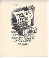 PF.120mmx150mm. - Ex-libris