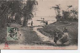 Tonkin-Hanoi-Grand Lac -Irrigations-La Vie Au Champs - Vietnam