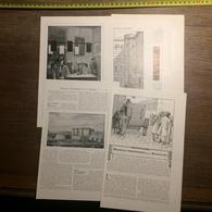 1909 DOCUMENT HEUREUX PRISONNIERS DE LA BASTILLE DE GORGUET - Vieux Papiers