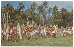 Polynésie Française Patia Fa, Manifestation Folklorique Unique Au Monde - Polynésie Française