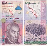 Cape Verde 1000 Escudos 2007 UNC Specimen - Cape Verde