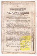 DP Philip Jacob Vergriete ° Dudzele Brugge 1816 † 1883 X Sophia Rotsaert - Images Religieuses