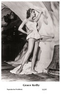 GRACE KELLY - Film Star Pin Up PHOTO POSTCARD - 61-47 Swiftsure Postcard - Postales